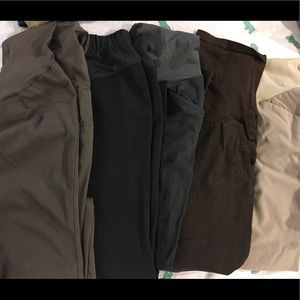 Bundle 5 pair of maternity work pants